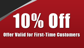 10% Off - Offer Valid for First-Time Customers